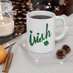 Irish Green Clover St Patrick's Day Printed Mug