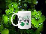 Go Luck Yourself Clover St Patrick's Day Printed Mug