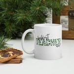 Luckiest Teacher Ever Green Clover Design St Patrick's Day Printed Mug