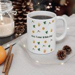 Get Your Irish One Clover St Patrick's Day Printed Mug