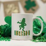 Irish Funny Leprechaun St Patrick's Day Printed Mug