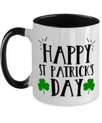 Clover Happy St Patrick's Day Printed Accent Mug