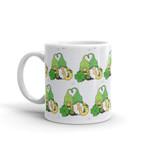 Gnome Couple Horseshoe Clover St Patrick's Day Printed Mug