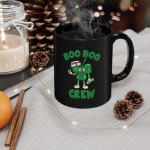St Patricks Day Nurse Shirt Boo Boo Crew Green Printed Mug