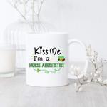 I'm A Nurse Anesthetist Kiss Me Green Top Hat St Patrick's Day Printed Mug