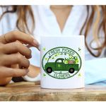 Fresh Picked Clovers St Patrick's Day Printed Mug