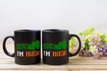 Tricolor Kiss Me Shamrock St Patrick's Day Printed Mug