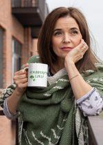 Murphy's Law Green Clover St Patrick's Day Printed Mug