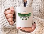 Great Celebration Clover St Patrick's Day Printed Mug