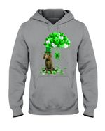 American Water Spaniel Patrick Balloons St. Patrick's Day Color Changing Hoodie