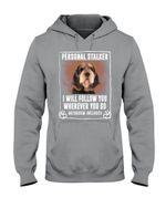 Otterhound Personal Stalker St. Patrick's Day Printed Hoodie