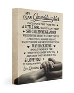 Grandma Gift For Granddaughter Enjoy The Ride Matte Canvas