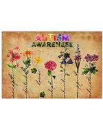 Autism Awareness Accept Gift For Autism People Horizontal Poster