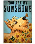 Schnauzer You Are My Sunshine Gift For Dog Lovers Vertical Poster