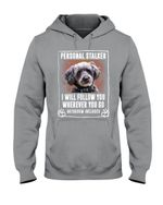 Schnoodle Will Follow You St. Patrick's Day Printed Hoodie
