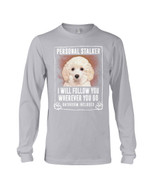 Toy Poodle Will Follow You St. Patrick's Day Printed Unisex Long Sleeve