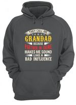 They Call Me Grandad Gift For Family Hoodie
