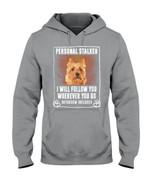 Australian Terrier Personal Stalker St. Patrick's Day Printed Hoodie