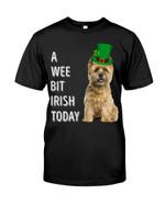 Cairn Terrier Irish Today Green St. Patrick's Day Guys Tee