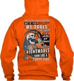 I May Seem Calm And Reserved But If You Mess With My Tools Hoodie
