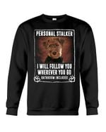 Welsh Terrier Will Follow You St. Patrick's Day Printed Sweatshirt