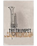 The Trumpet By Blowing Air Through Closed Lips Vertical Poster