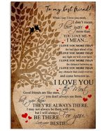 Good Friends Are Like Stars Gift For Close Friend Vertical Poster