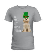 American Cocker Spaniel Irish Today Green St. Patrick's Day Ladies Tee