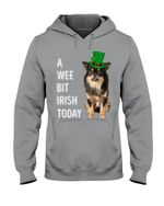 Long Haired Chihuahua Irish Today St. Patrick's Day Printed Hoodie