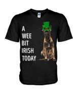 Belgian Malinois Irish Today Green St. Patrick's Day Guys V-neck