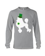 Poodle Leprechaun Leprechaun St. Patrick's Day Color Changing Unisex Long Sleeve