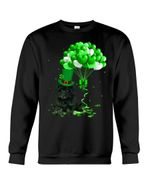 Maltipoo Patrick Balloons St. Patrick's Day Color Changing Sweatshirt