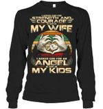 I Asked God For An Angel Gift For Family Unisex Long Sleeve