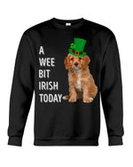 Cavapoo Irish Today Green St. Patrick's Day Printed Sweatshirt