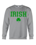 Irish Shamrock Lucky Leaves St Patrick's Day Sweatshirt