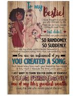 Gift For Bestie You Are An Instrument Of Joy Vertical Poster