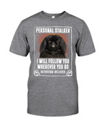 Black Pekingese Personal Stalker St. Patrick's Day Guys Tee