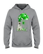 Soft Coated Wheaten Terrier Patrick Balloons St. Patrick's Day Color Changing Hoodie