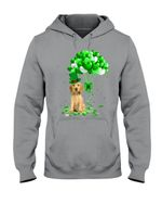 Cocker Spaniel Patrick Balloons St. Patrick's Day Color Changing Hoodie