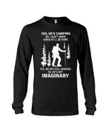 We Are Still Married He's Camping Gift For Wife Unisex Long Sleeve