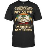 I Asked God For An Angel Gift For Family Guys Tee