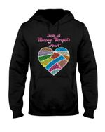 Inside A Massage Therapist's Heart Gift For Massge Therapist On Birthday Hoodie
