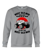 Most Old Men Would Have Given Up By Now Cool Jeep Sweatshirt