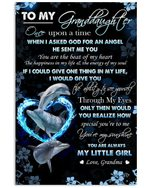 Dolphin How Special You Are To Me Grandma Gift For Granddaughter Vertical Poster