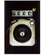 Dj Vintage Turntable Real Image Meaningful Gift For Music Lovers Vertical Poster