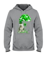 Old English Sheepdog Patrick Balloons St. Patrick's Day Color Changing Hoodie
