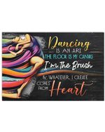 Ballet Dancing Is An Art Meaningful Gift Horizontal Poster