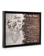 How Special You Are To Me Deer Custom Name Gift For Wife Framed Matte Canvas