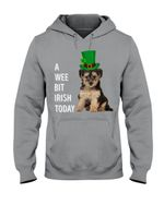 Yorkipoo Irish Today Dog Lovers St. Patrick's Day Printed Hoodie