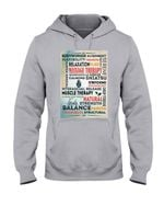 Bodyworker Alignment Flexibility Therapeutic Relaxation Well Being Hoodie